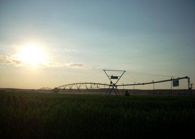 Pivot Hi&tec puesta de sol